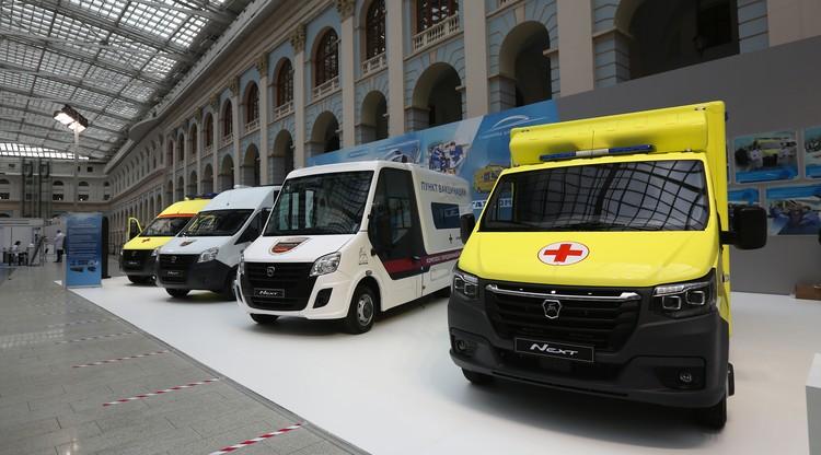 Автомобили ГАЗ на форуме Здоровье нации. Автор фото: Михаил КРУГЛОВ