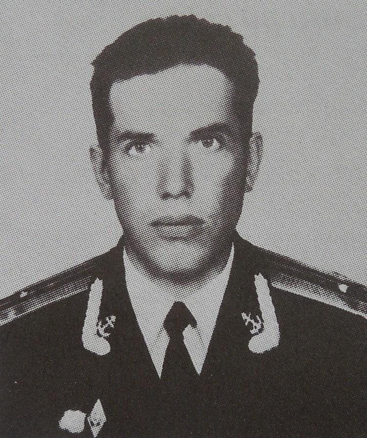 Капитан 3 ранга Андрей Силогава.