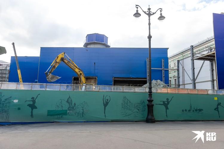 """Станцию """"Театральная"""" начали строить 6 лет назад"""