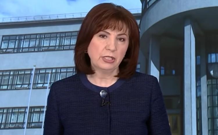 Председатель Совета республики Беларусь Наталья Кочанова.