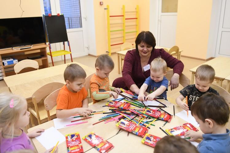 Детский сад в д. Алтуховка Смоленского района. Фото предоставлено пресс-службой губернатора Смоленской области