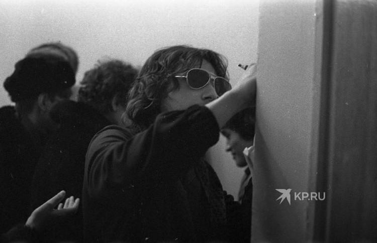 """Майк Науменко - солист советской рок-группы """"Зоопарк"""". Фото: представлено Всеволодом Арашкевичем"""
