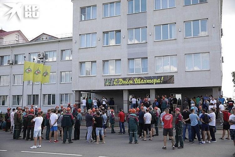 """Бастующие работники """"Беларуськалия"""" выдвинули несколько требований"""