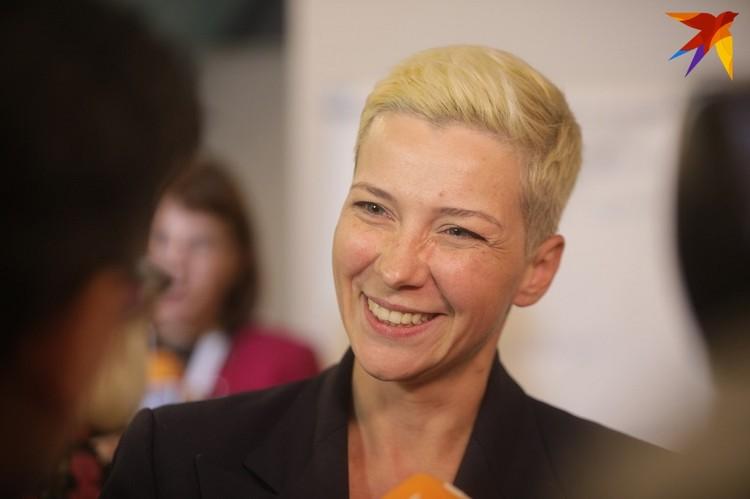 Соратница Светланы Тихановской Мария Колесникова в составе президиума Координационного совета.