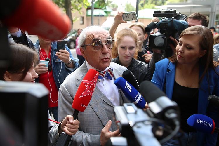 Александр Добровинский. Фото: Вячеслав Прокофьев/ТАСС
