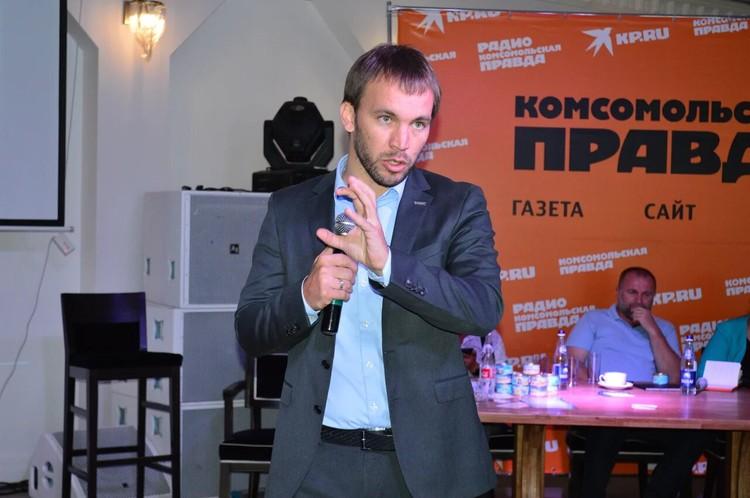 Вице-президент, исполнительный директор «Общенационального союза гостеприимства» – Алексей Волков