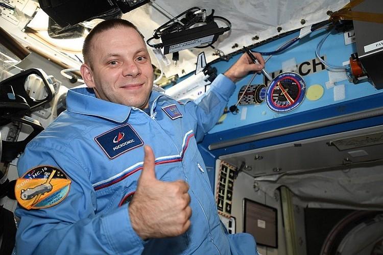В числе прочих на орбите Земли находится петербургский космонавт Иван Вагнер. Фото: vk.com/ivan_mks63