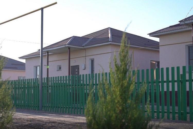 Строительство жилых домов для пострадавших от наводнения в Мактааральском районе.