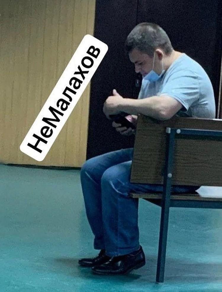 Тайный свидетель по делу Ефремова не нашел себя на видео с места ДТП. Фото: Телеграмканал Немалахов