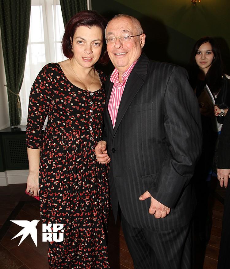 Марк Розовский и его супруга Татьяна Ревзина