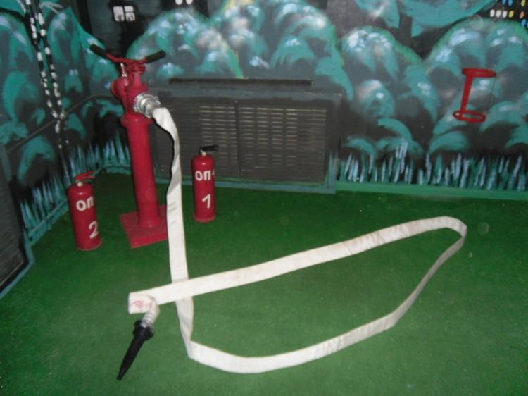 Участники должны правильно подключить пожарное оборудование. Фото: предоставлено Ивановским областным отделением ВДПО