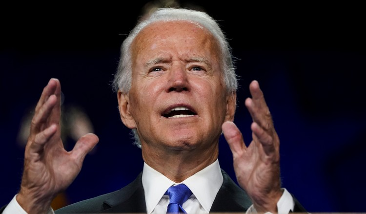 Кандидат в президенты США от демократической партии Джо Байден.