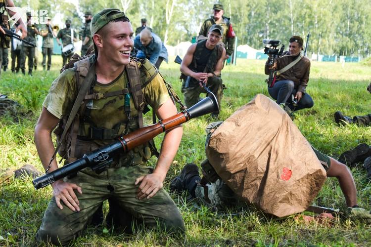 Российские разведчики финишировали в хорошем настроении. Это очень радует.