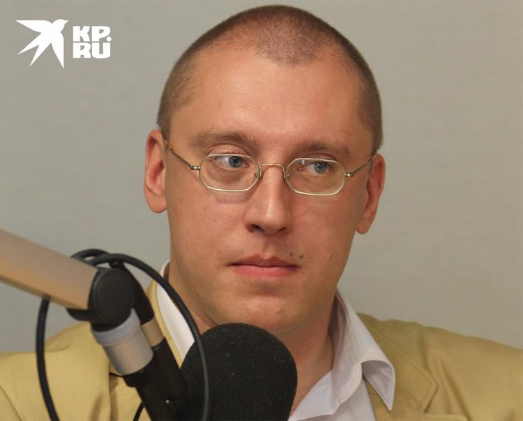 Кандидат исторических наук, глава канцелярии Русского Императорского дома Александр Закатов.