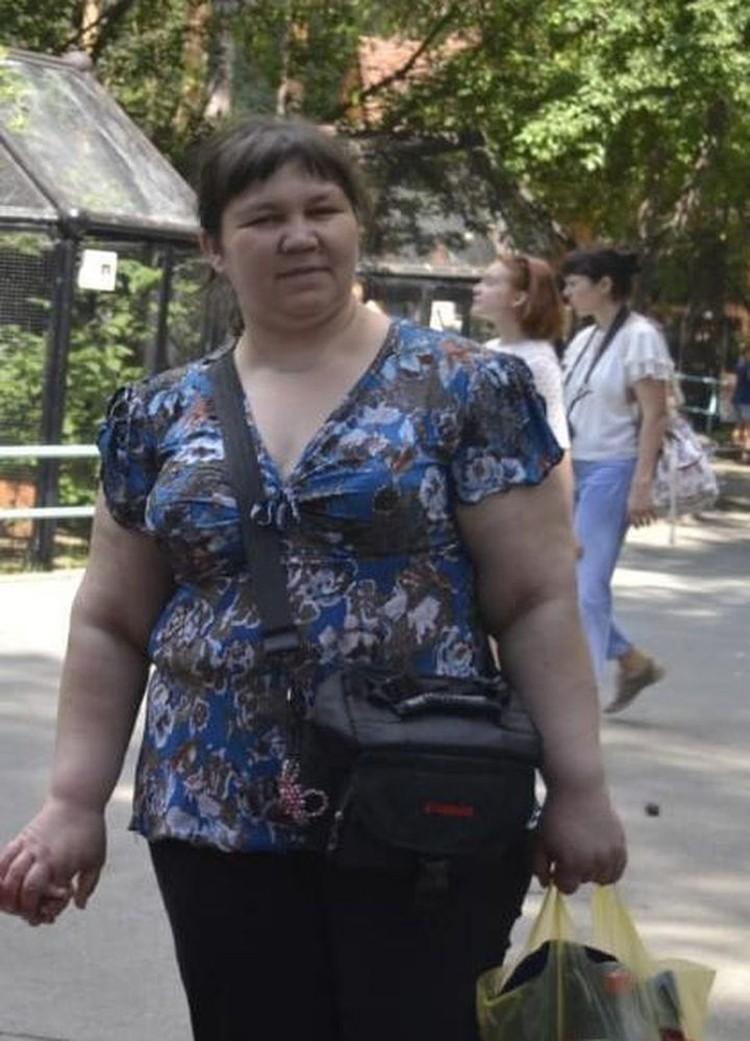 Сибирячка весила 110 килограммов. Фото: личный архив.