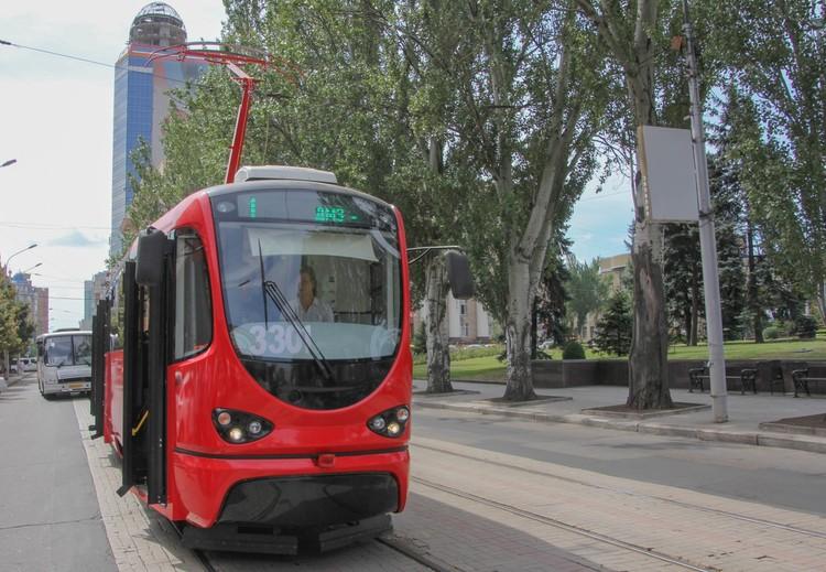 Первый выход на маршрут трамвая «Я - Донецкий»
