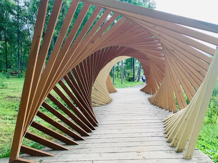 Ландшафтные дизайнеры арт-парка воплотили в реальность самые смелые идеи