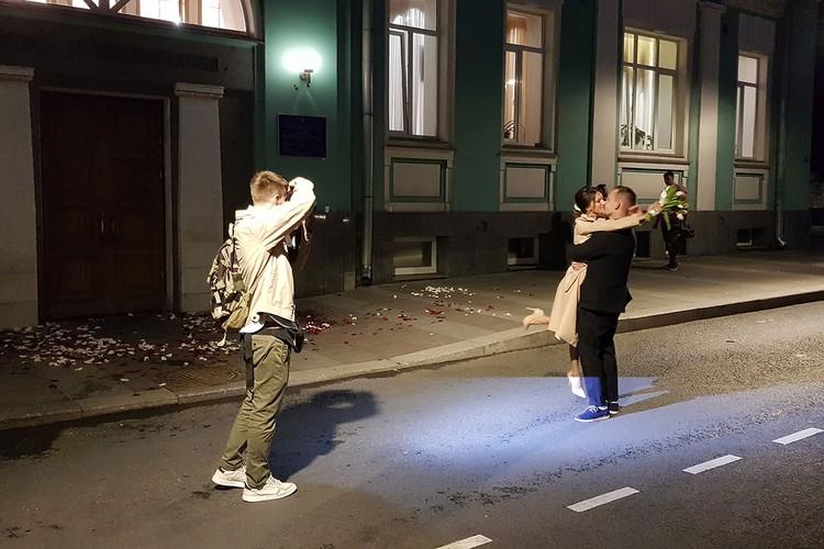 Ксения и Николай хотели пожениться именно во Дворце бракосочетания №1.