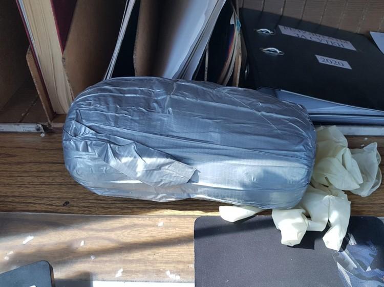 Найденный в дорожной сумке мефедрон потянул на 1200 граммов.