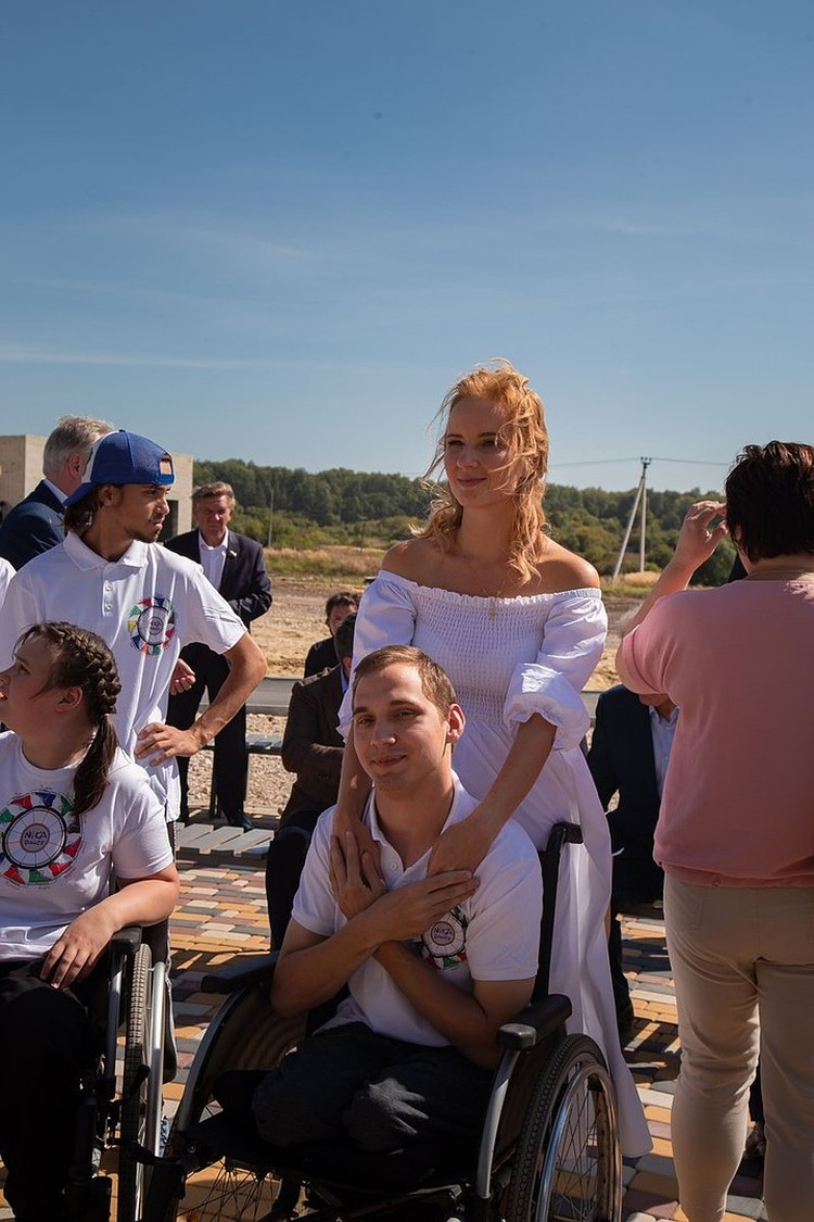 Мария Львова-Белова помимо подопечных растит 16 детей! Автор фото: Элеонора МЕКШИНА