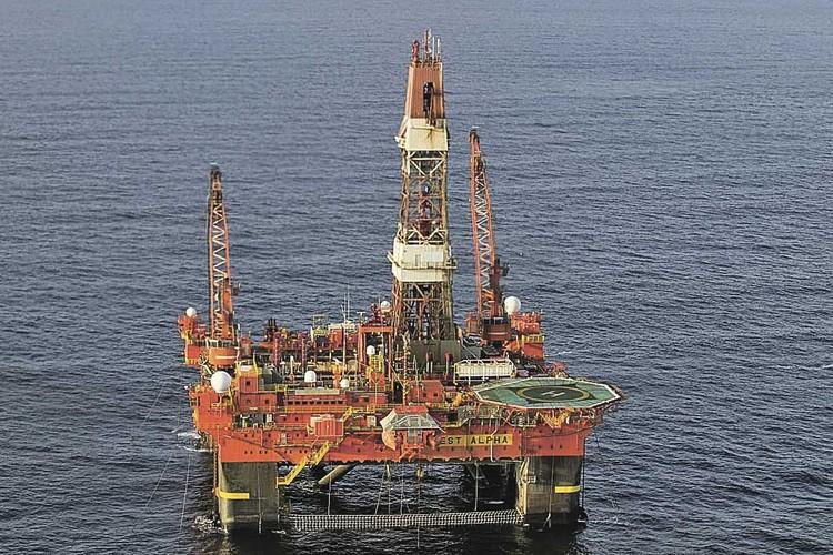 8 августа 2014 года платформа начала бурение скважины «Университетская-1» в Карском море в рамках проекта «Роснефти» и ExxonMobil. Фото: ПАО «НК «Роснефть»