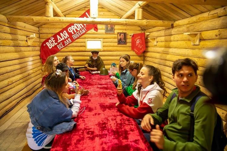Важно, чтобы молодежь знала свою историю. Для этого на форуме было много активностей. Фото: sakhalin.gov.ru