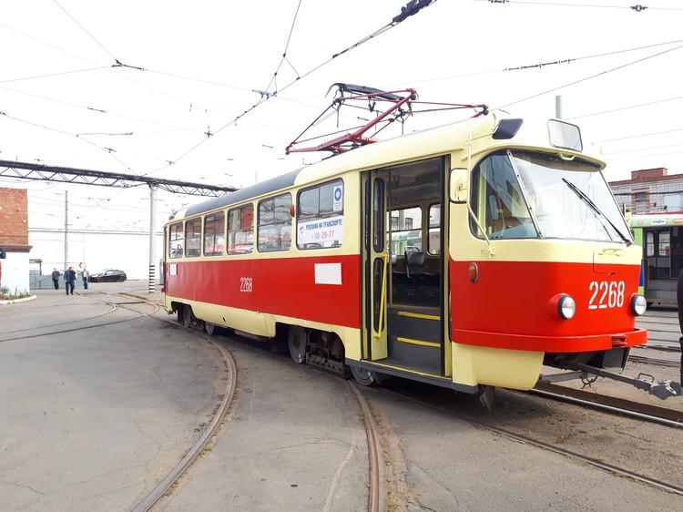 Современный трамвай делают на основе чешского