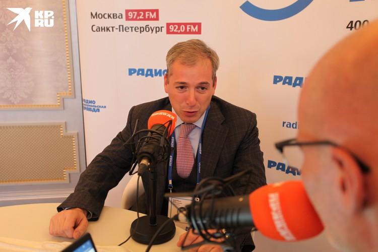 Федор Щербаков дал первое интервью радио Комсомольская Правда в Петербурге 92.0 FM.