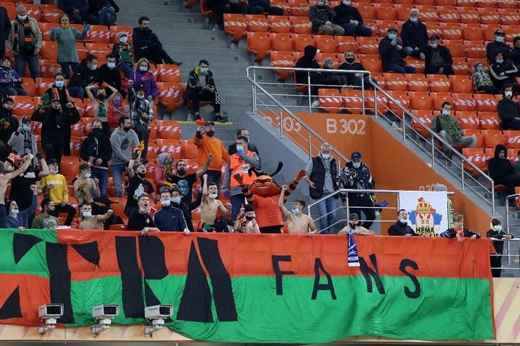 Матч проходил на «Екатеринбург Арене». Фото: пресс-служба ФК «Урал»