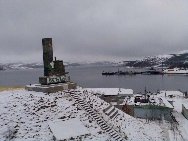 Монумент находится на мысе Лодейный. Фото: vk.com/liinahamari_official