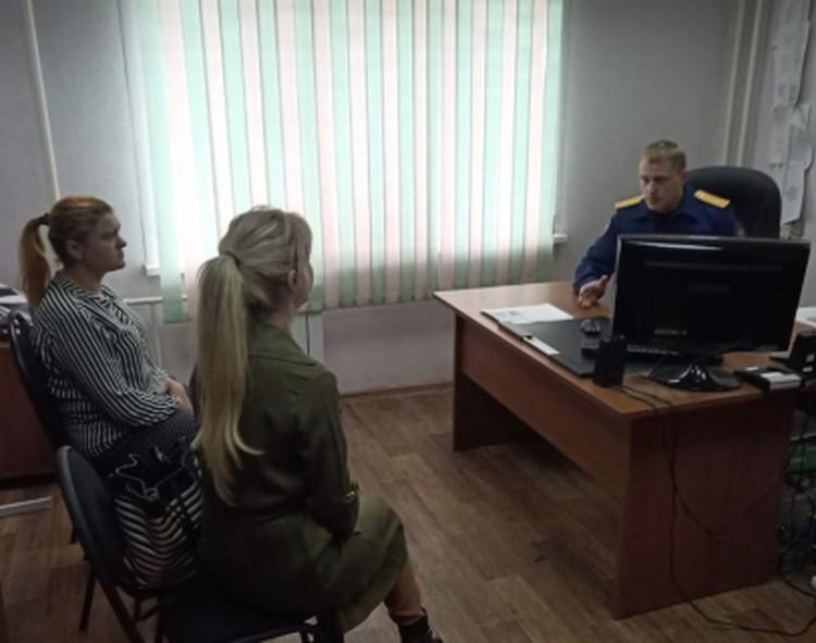 Директор клиники задержана и дает показания Фото: ГСУ СК РФ по Красноярскому краю и РХ