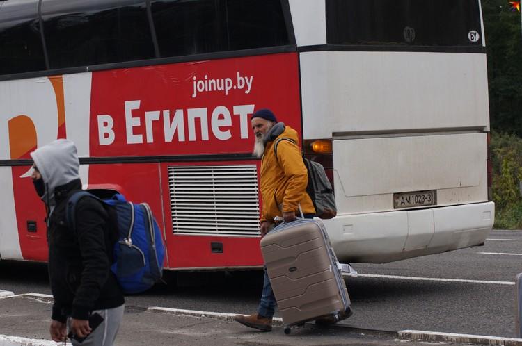 Еврейсике общины арендовали для паломников автобусы