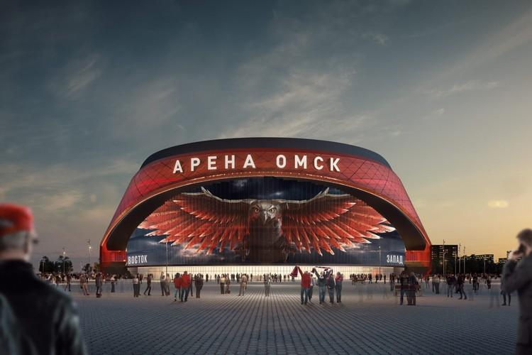 Вот такой будет арена-красавица. Автор фото: Антон ПОПУРЕЙ