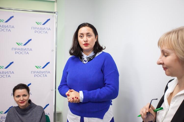 Многодетная мама Екатерина Андержанова уже воспользовалась услугами центра