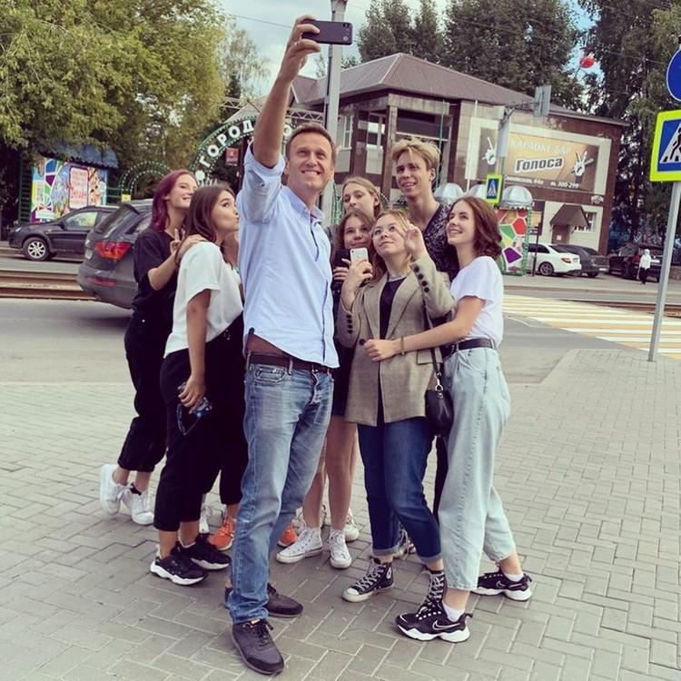 Алексей Навальный в Томске
