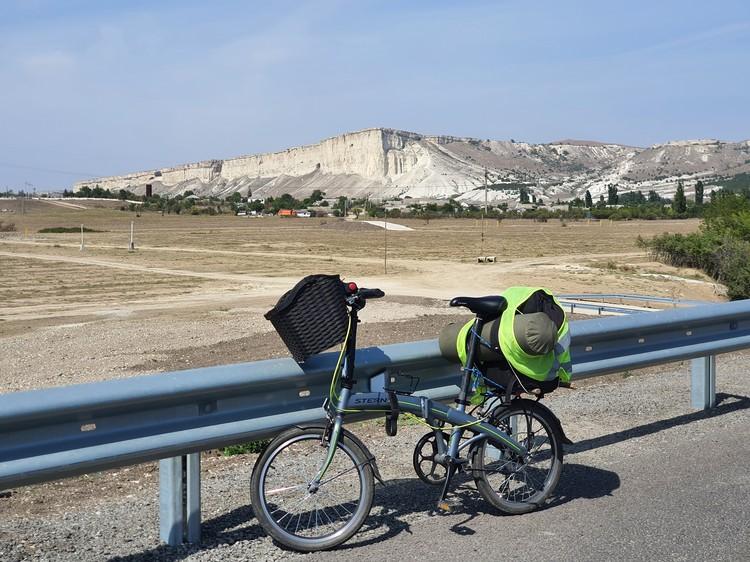 Велосипед не подвел своего хозяина. Фото: Александр Долгополов/ВК