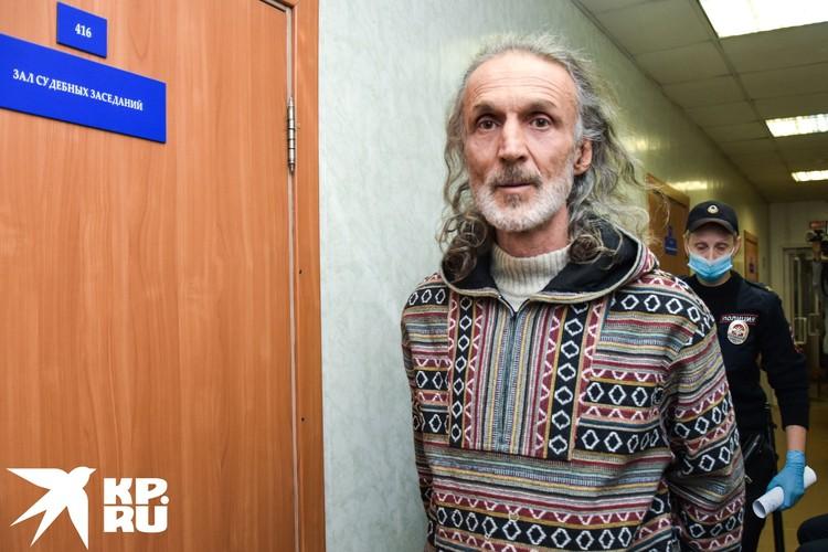 Вадим Редькин, еще один длинноволосый сподвижник Виссариона.