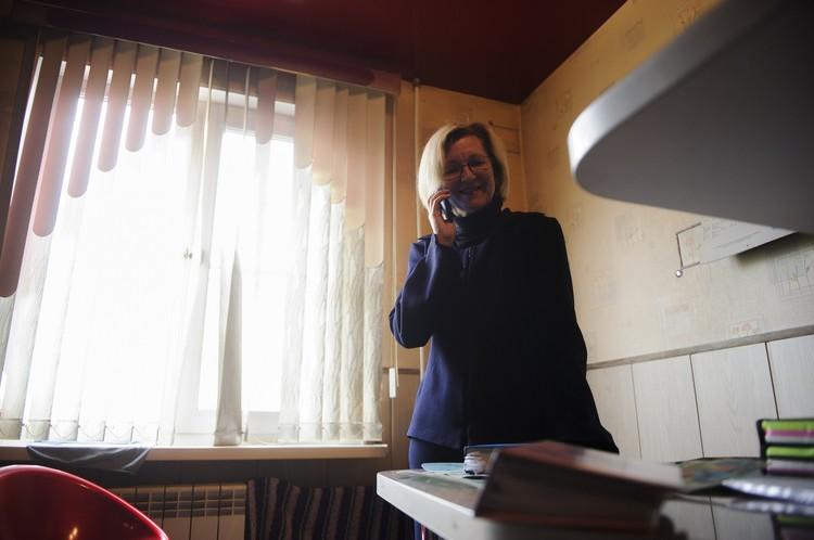 Звонок от младшего сына застал Гилу Германскую врасплох, женщина не скрывала радости
