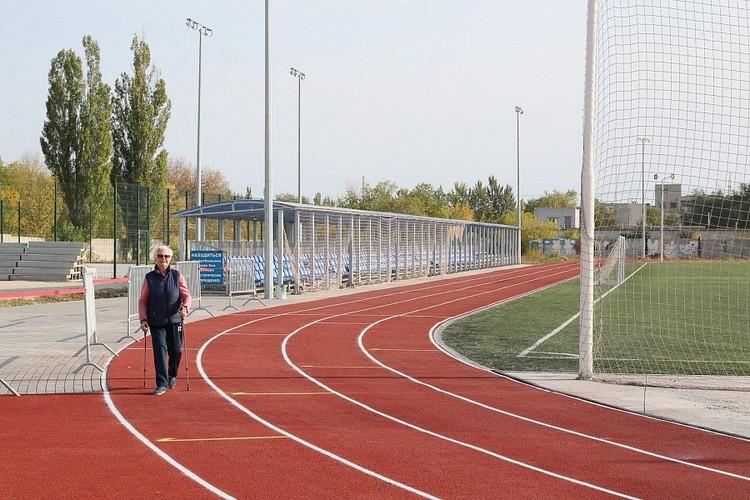 Вот так выглядит стадион после реконструкции. Фото администрации ВО.