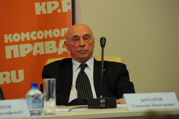 25 сентября отметил юбилей классик российской журналистики, писатель Геннадий Бочаров