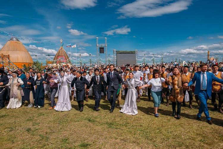 Национальный праздник «Ысыах Туймаады-2018». Фото: пресс-служба главы Якутии