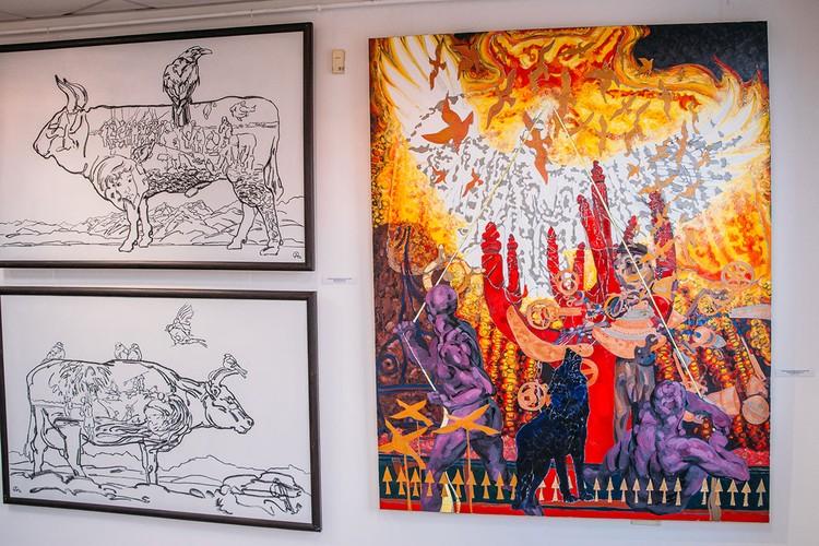 Выставка художника-живописца Анны Осиповой. Фото: пресс-служба главы Якутии