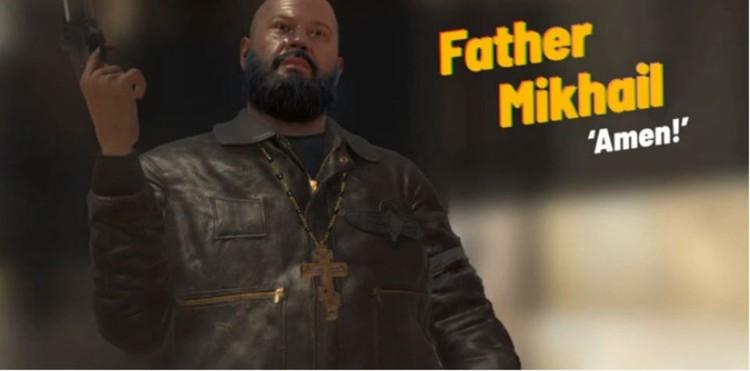 По легенде, отец Михаил родился в Мурманске. Фото: скриншот видео