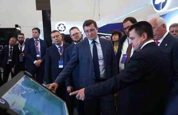 Чего стоит только проведение в Нижнем Новгороде конференции «Цифровая индустрия промышленной России». ФОТО: Кирилл Мартынов.