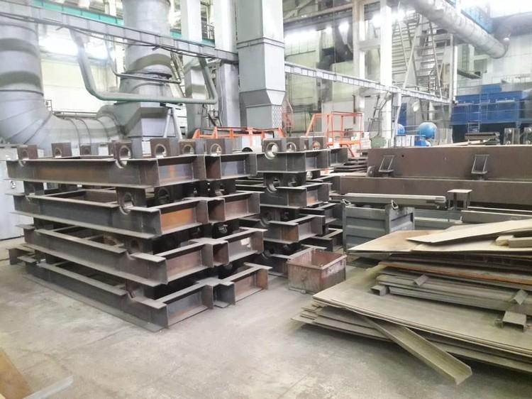 Общий вес деталей для эстакады - около 288 тонн. Фото: Инна Шереметьева.