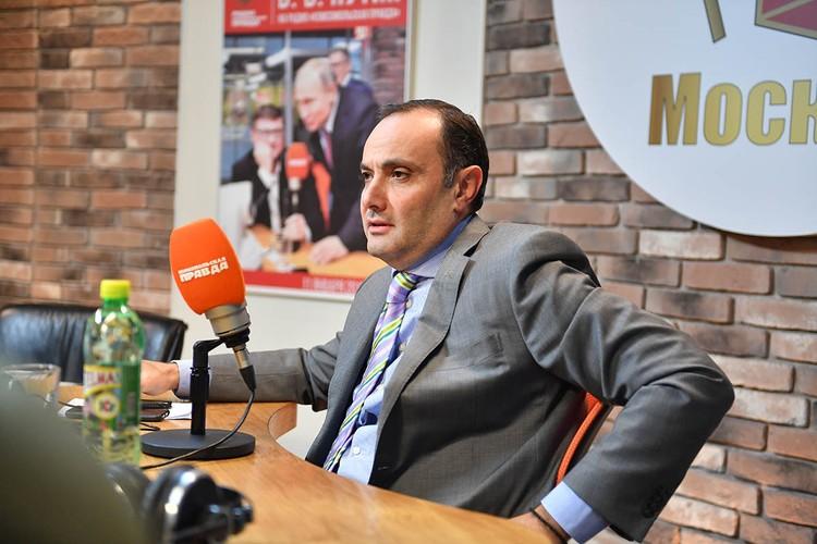 Вардан Тоганян, посол Армении в РФ