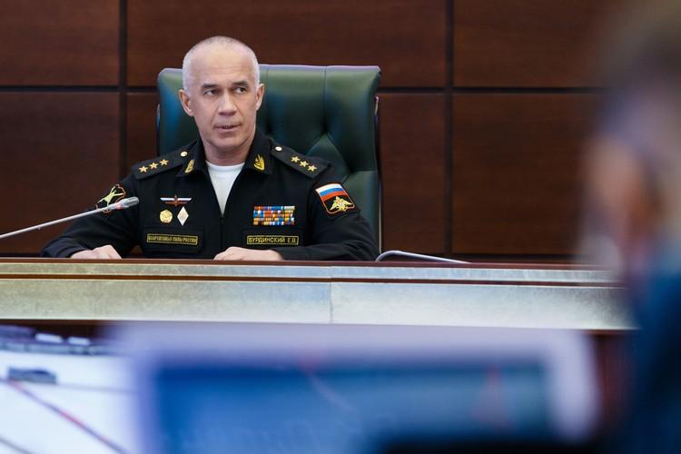 Начальник главного организационно-мобилизационного управления Генштаба ВС РФ Евгений Бурдинский.