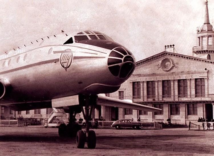 Осенью 1973 года Ту-104 упал через три минуты после взлета. Фото: аэропорт «Кольцово»