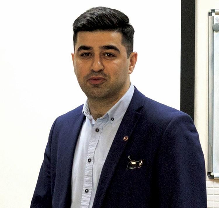 Геворк Григорян, председатель «Донской союз армянской молодежи». Фото: сайт организации