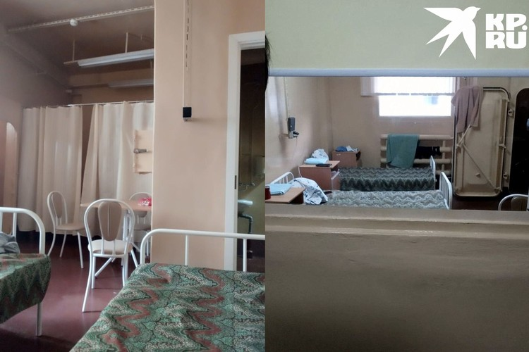 Так выглядят внутри палаты, в них было от 2 до 4 пациентов. Фото: личный архив.